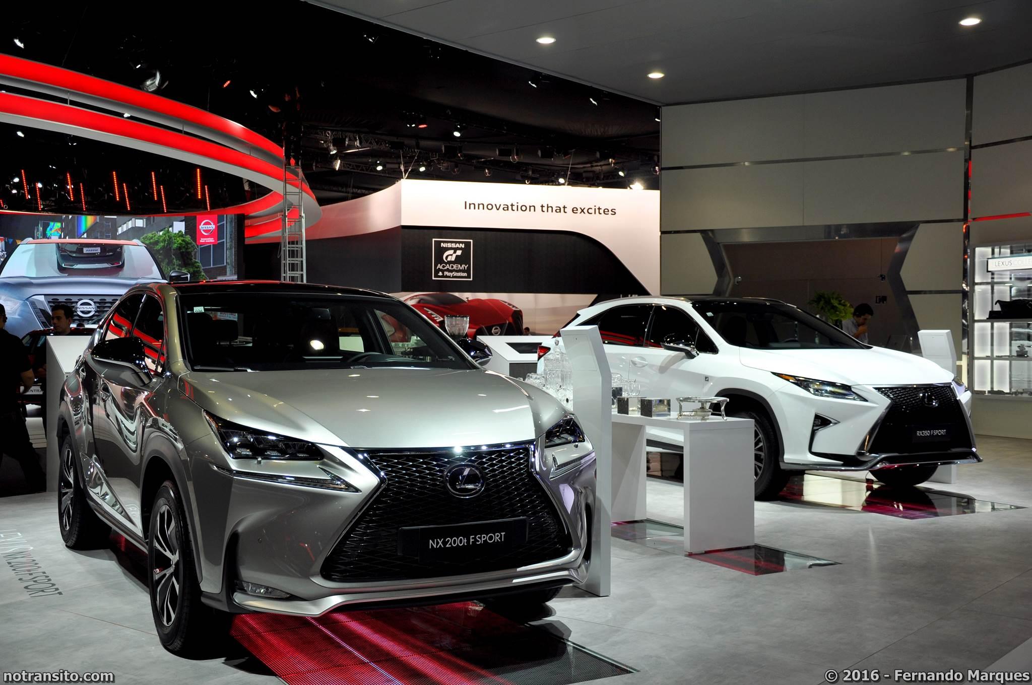 Estande Lexus Salão do Automóevl 2016