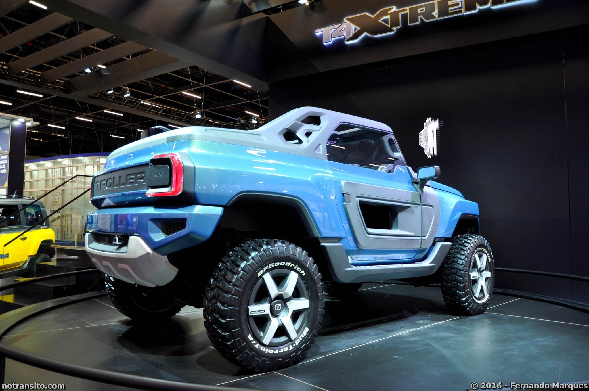 Troller T4 Xtreme Concept, Salão do Automóvel 2016