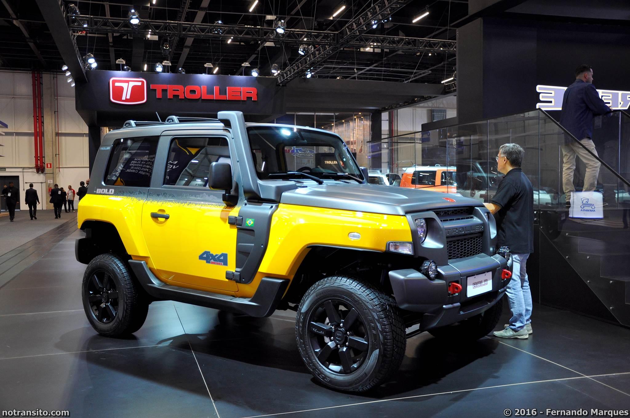 Troller T4 Bold, Salão do Automóvel 2016