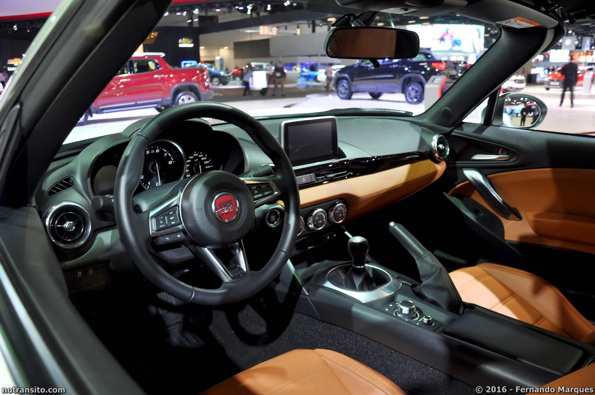 Fiat 124 Spider Lusso, Salão do Automóvel 2016, 29º Salão do Automóvel de São Paulo