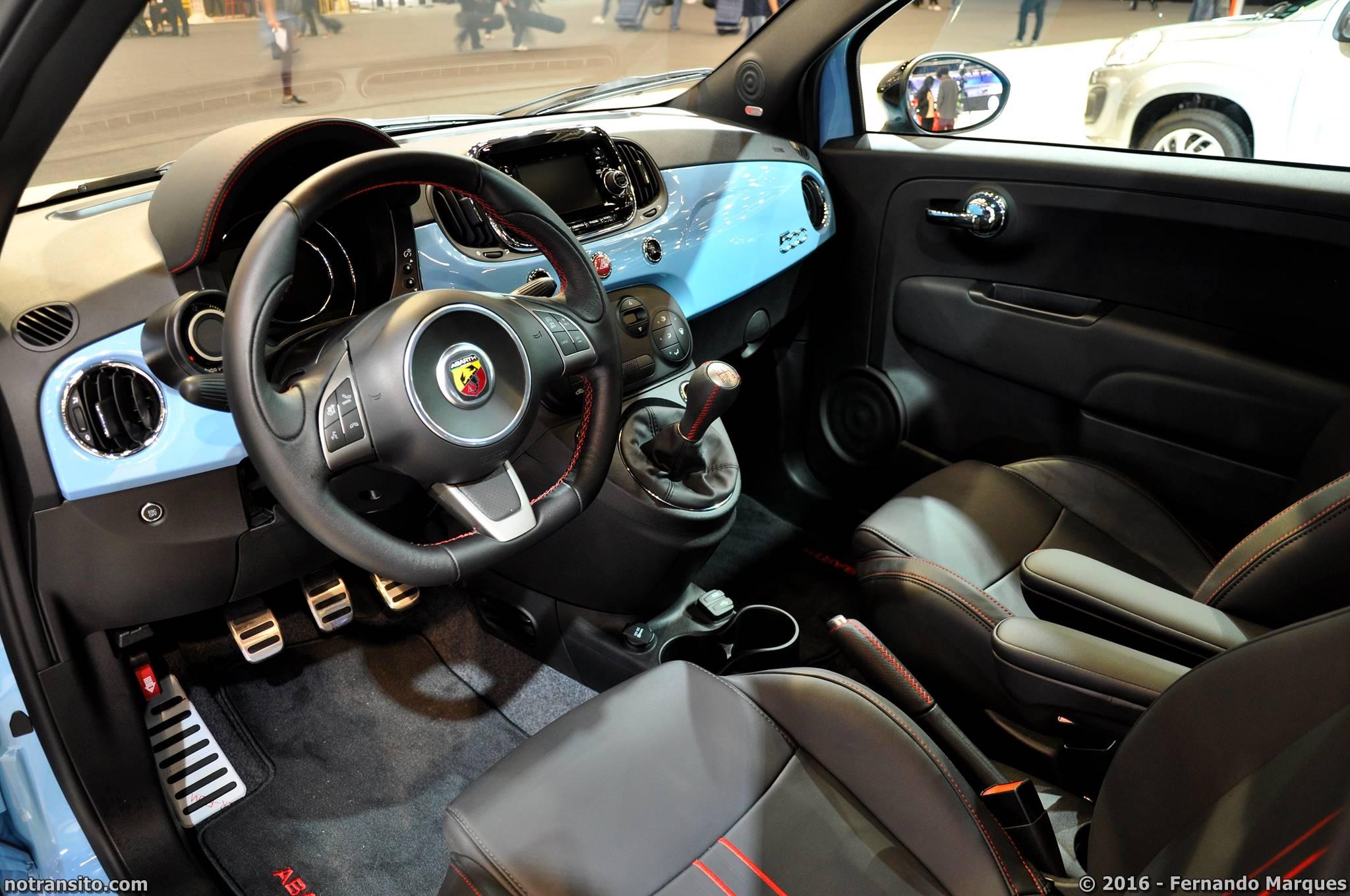 Fiat 500 Abarth Celeste Blu, Salão do Automóvel 2016, 29º Salão do Automóvel de São Paulo