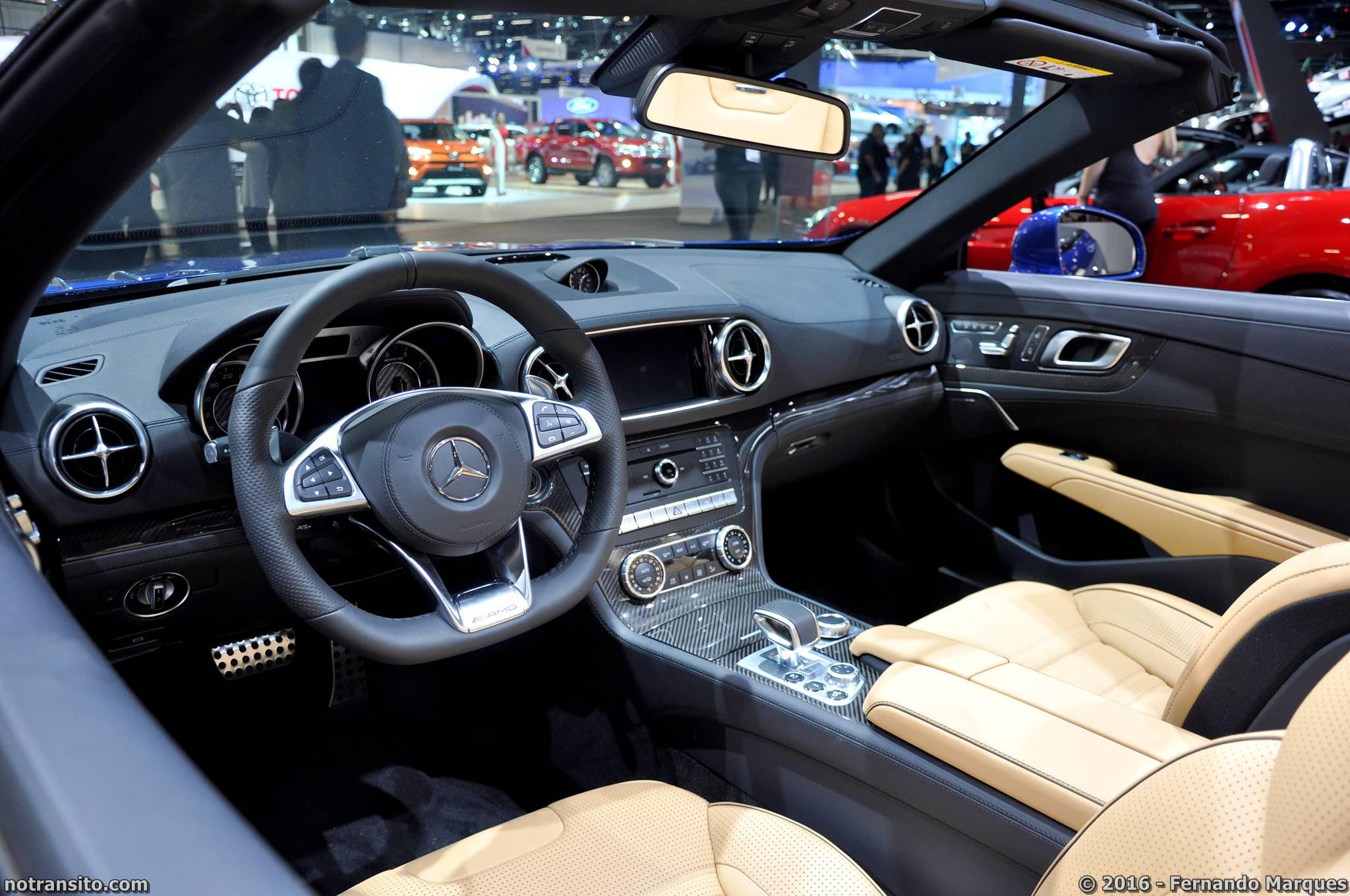 Mercedes-AMG SL 63 Salão do Automóvel 2016