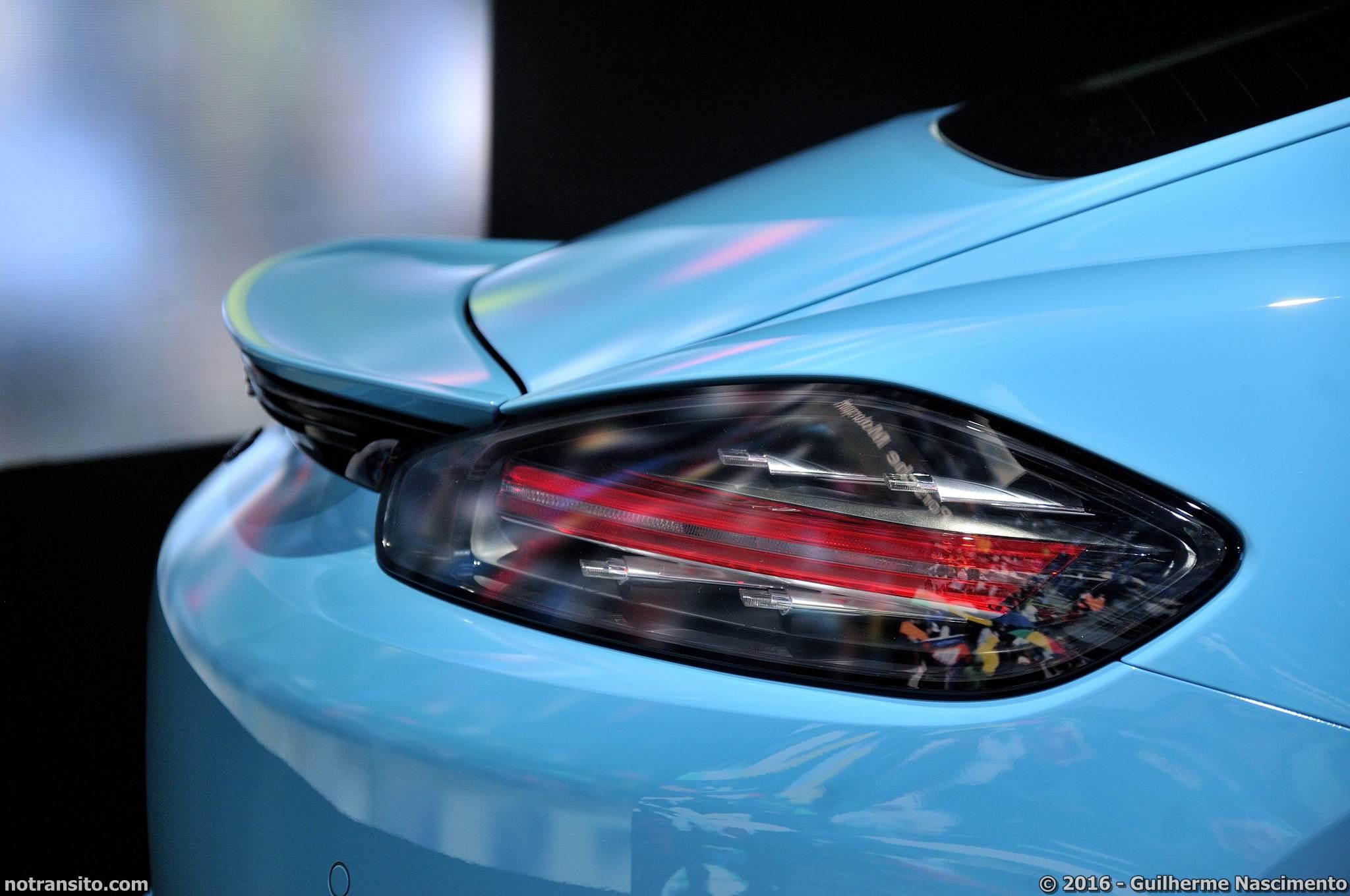 Porsche 718 Cayman S Azul Miami, Salão do Automóvel 2016, 29º Salão do Automóvel de São Paulo