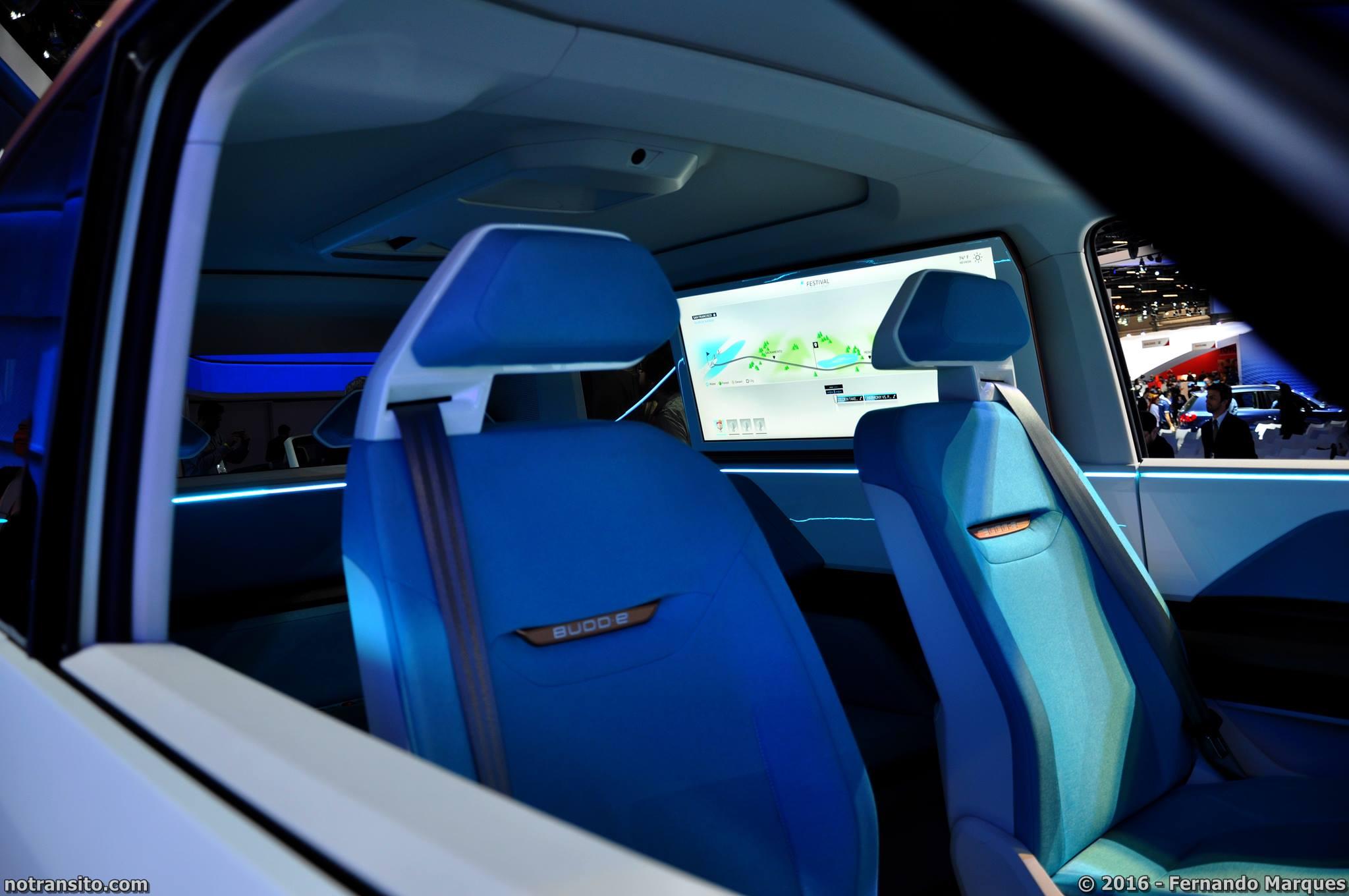 Volkswagen Budd-E Concept, Salão do Automóvel 2016, 29º Salão do Automóvel de São Paulo