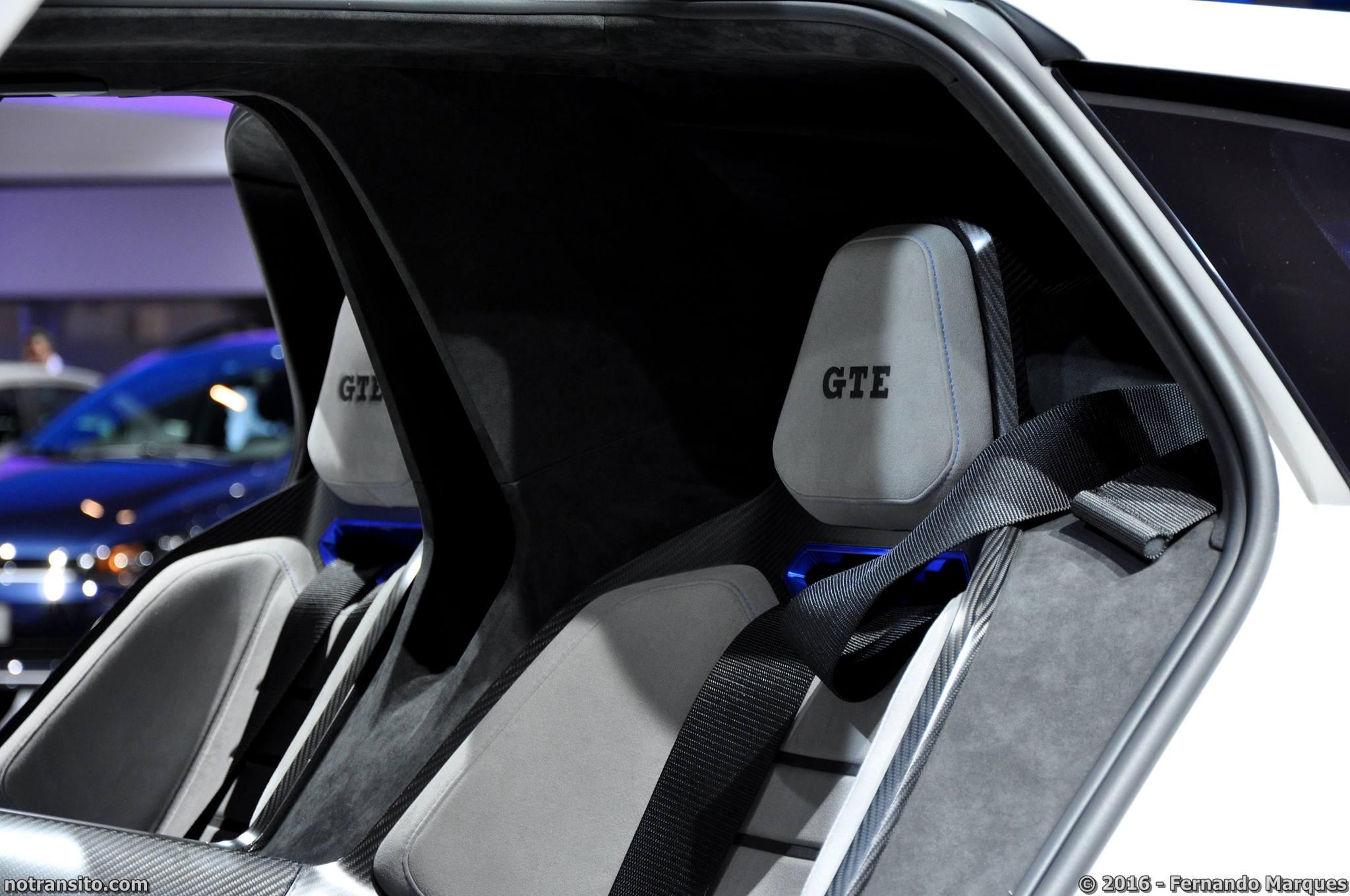 Volkswagen Golf GTE Sport Concept, Salão do Automóvel 2016, 29º Salão do Automóvel de São Paulo
