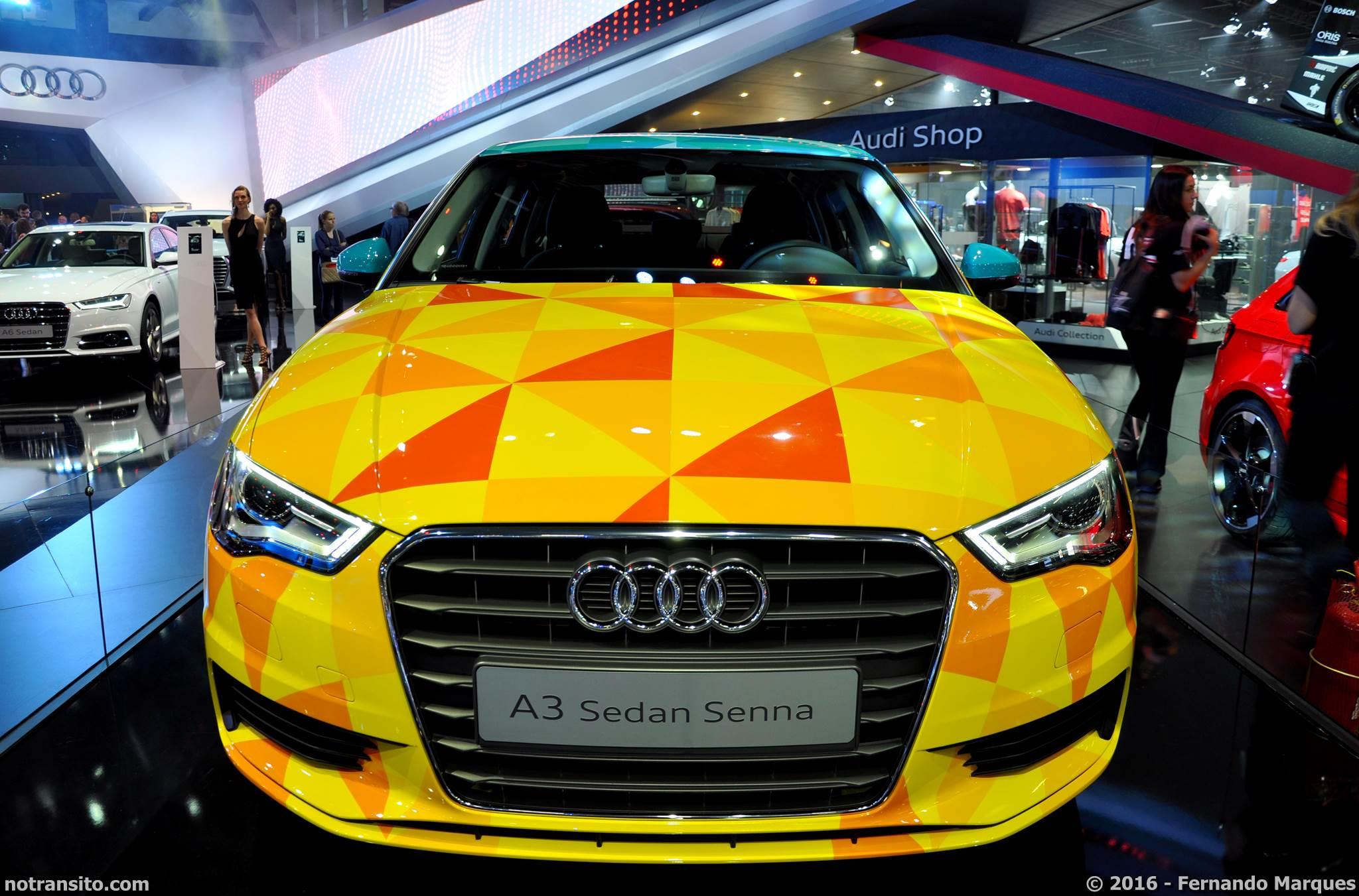 Audi A3 Sedã Salão do Automóvel 2016