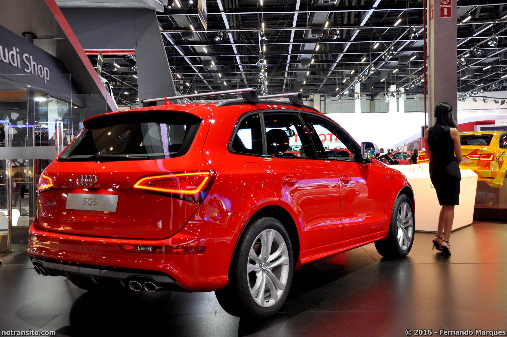 Estande Audi Salão do Automóvel 2016