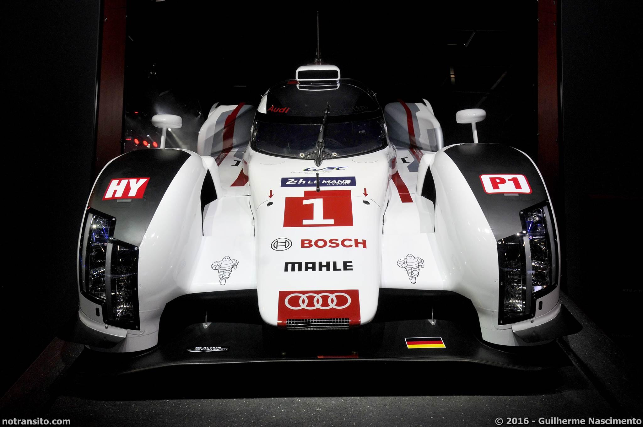 Audi R18 2014 Salão do Automóvel 2016