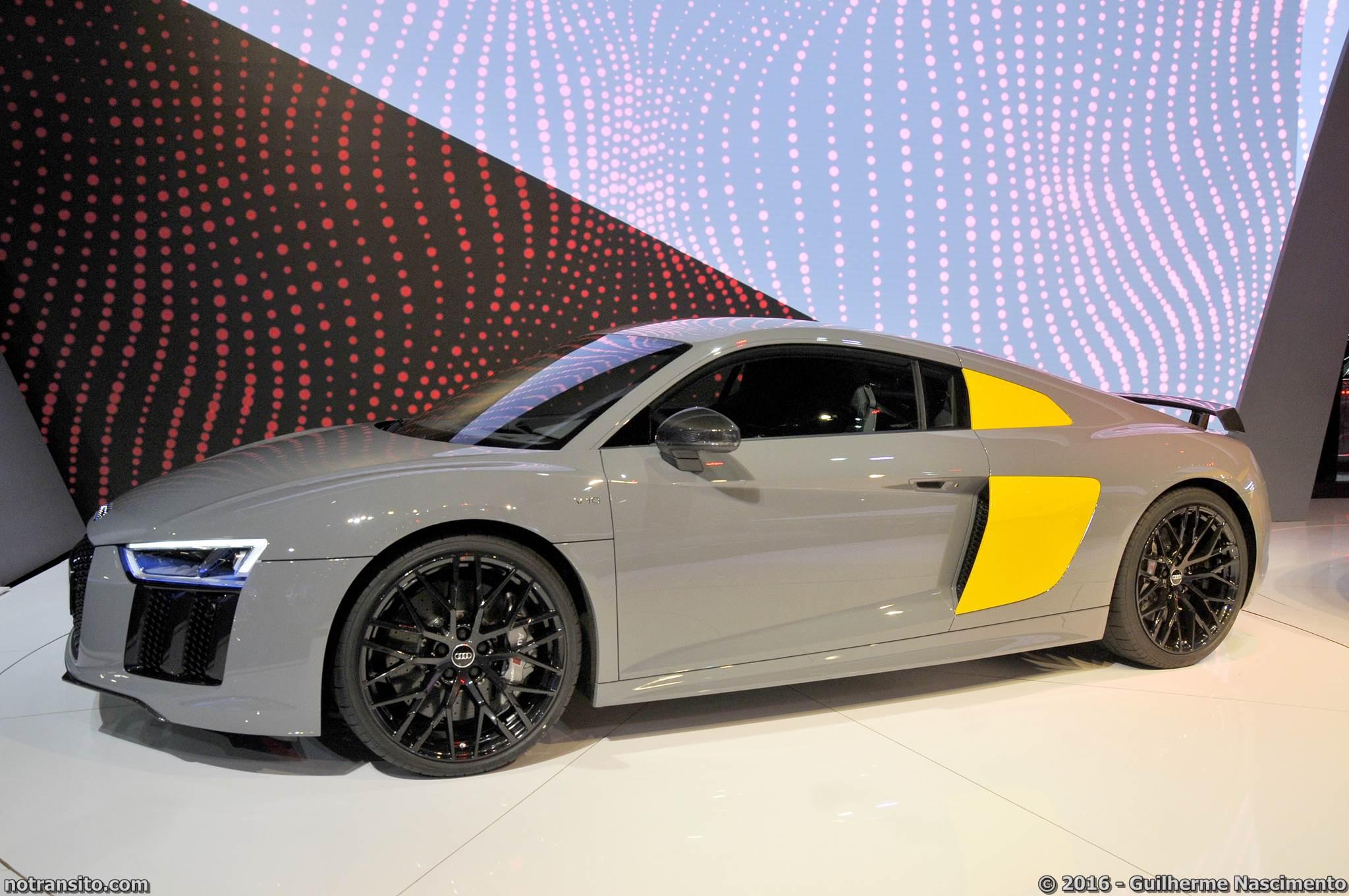 Audi R8 V10 Plus Salão do Automóvel 2016