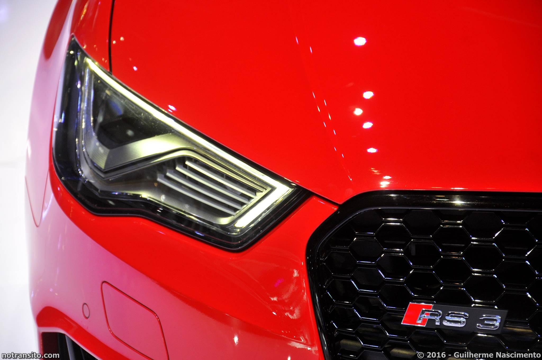 Audi RS3 Sportback Salão do Automóvel 2016