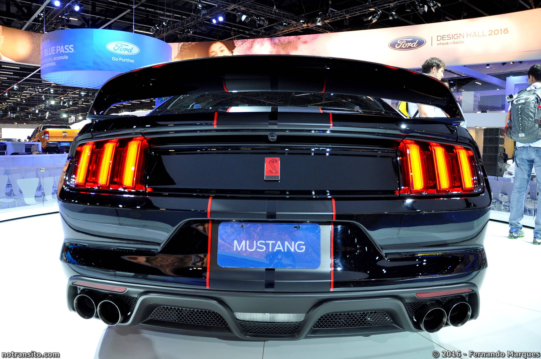 Ford Mustang Shelby GT350R Salão do Automóvel 2016