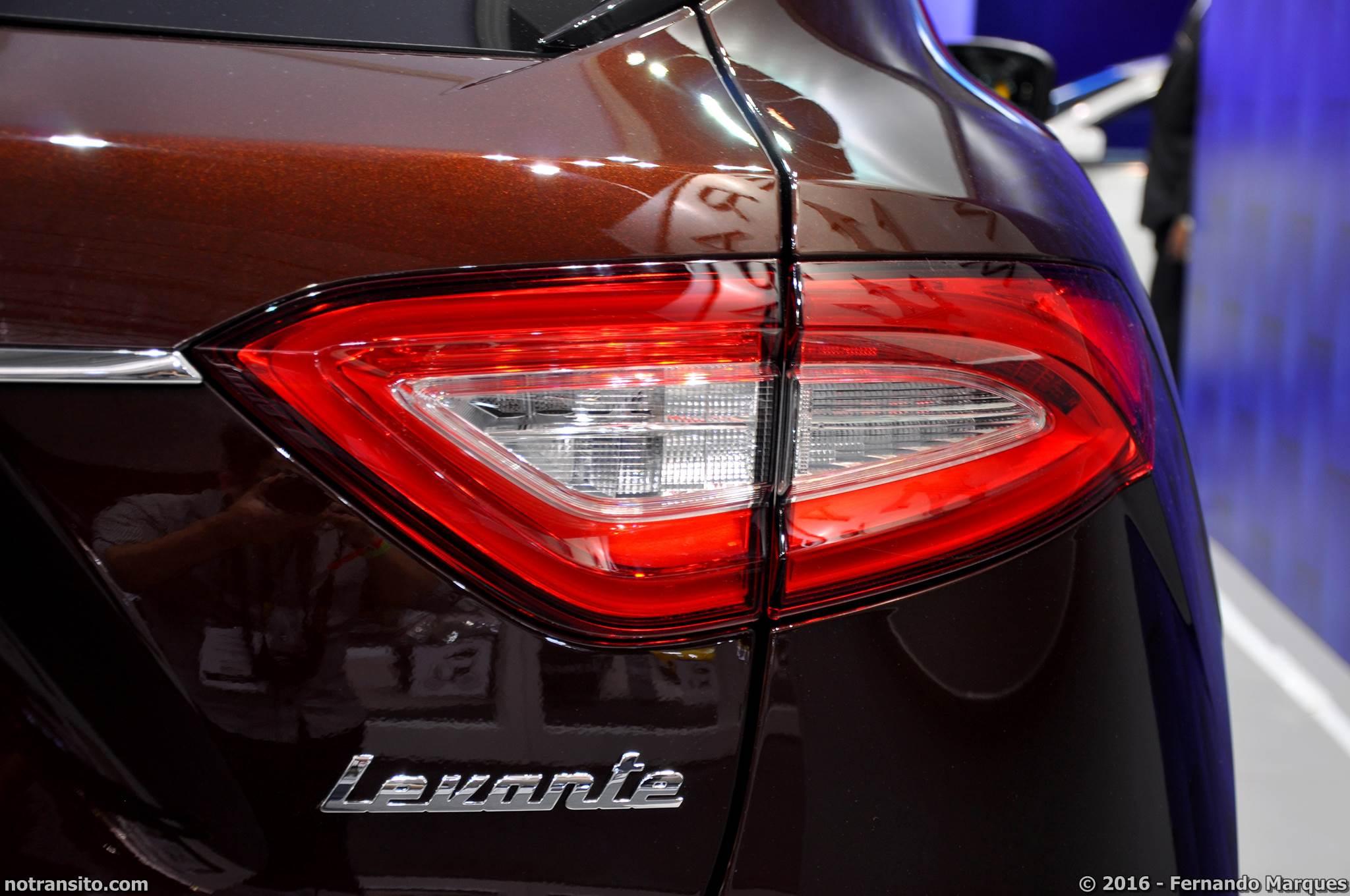 Maserati Levante Salão do Automóvel 2016