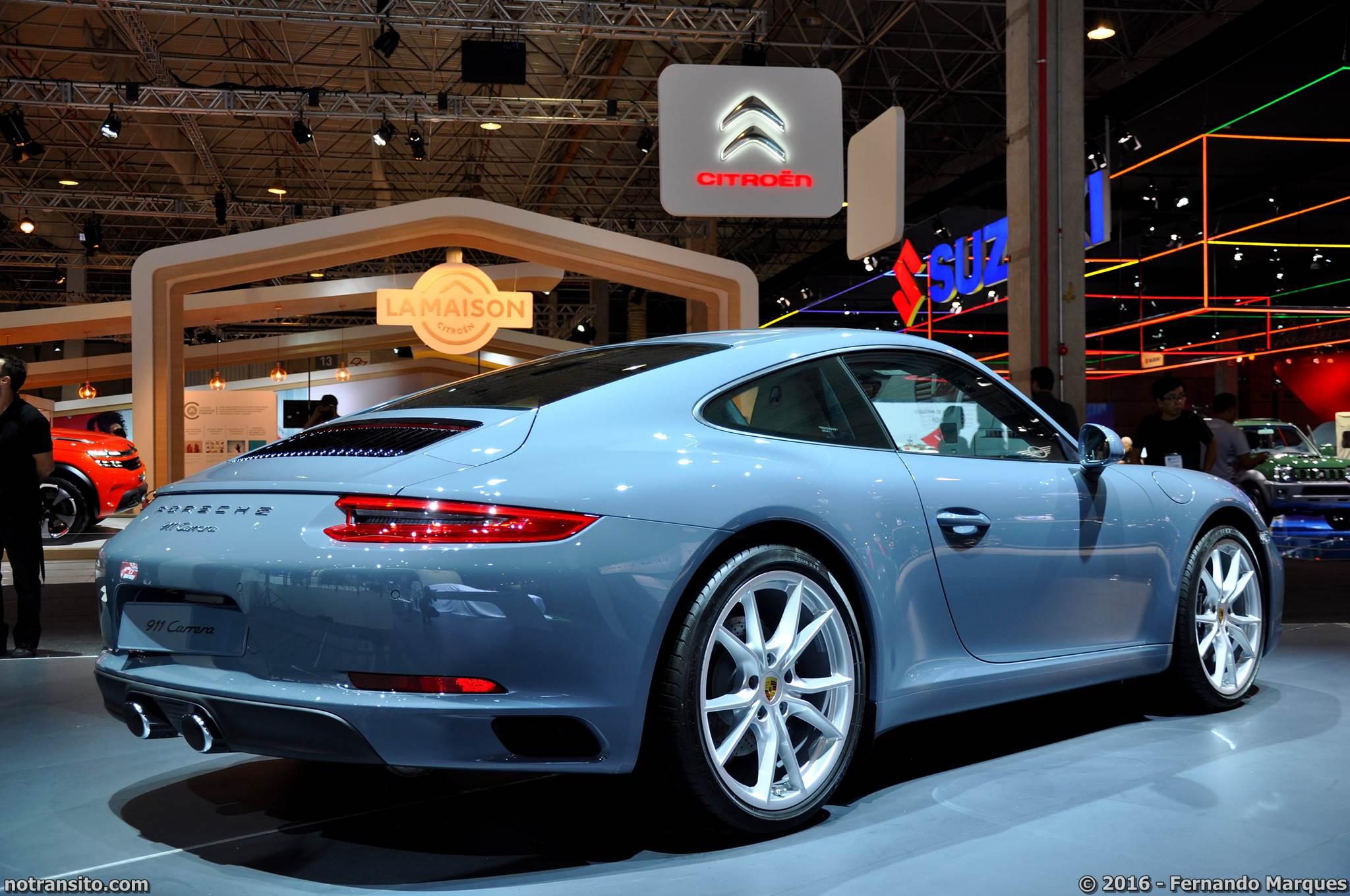 Porsche 911 Carrera Salão do Automóvel 2016