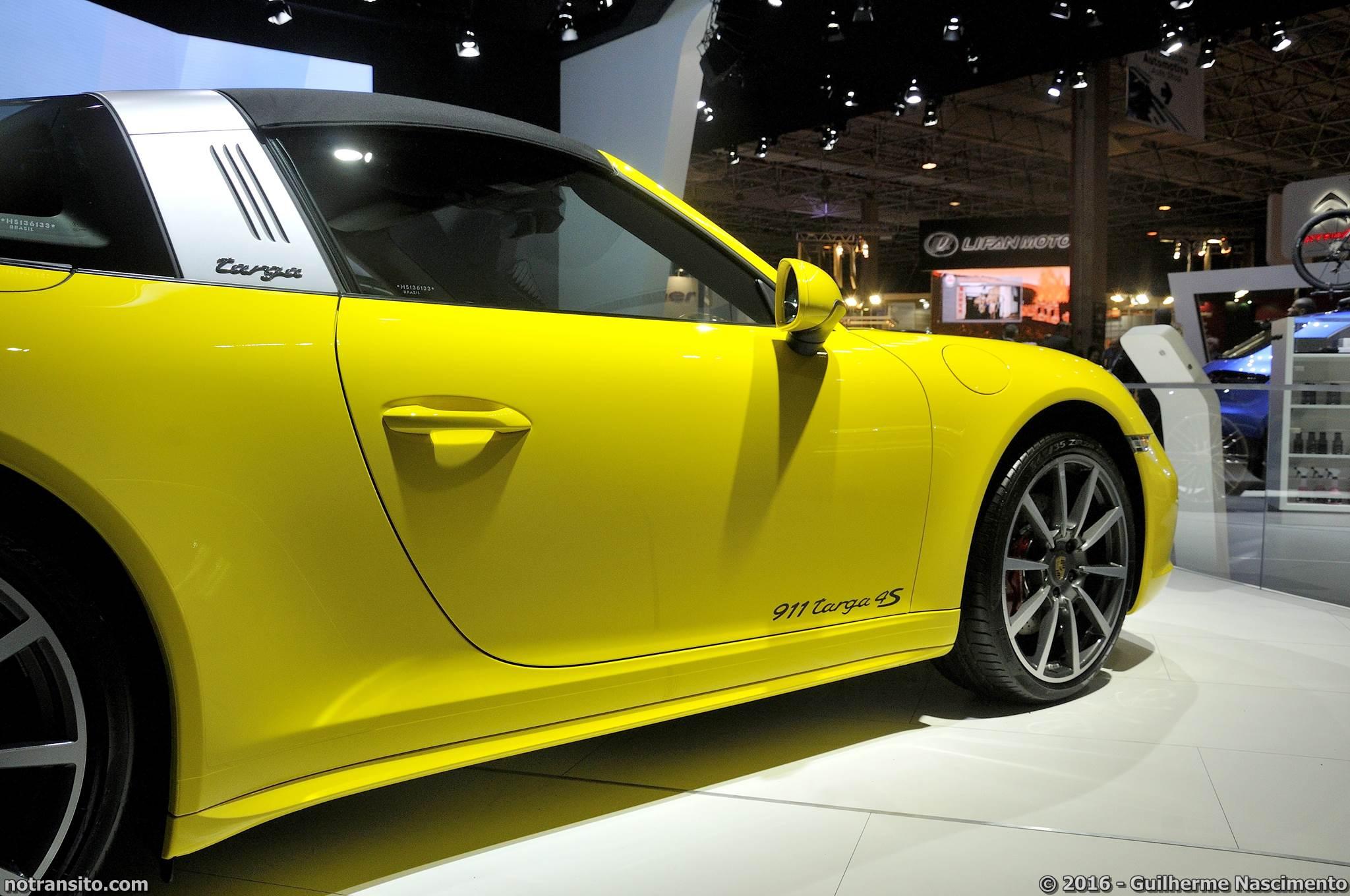 Porsche 911 Targa 4S Salão do Automóvel 2016