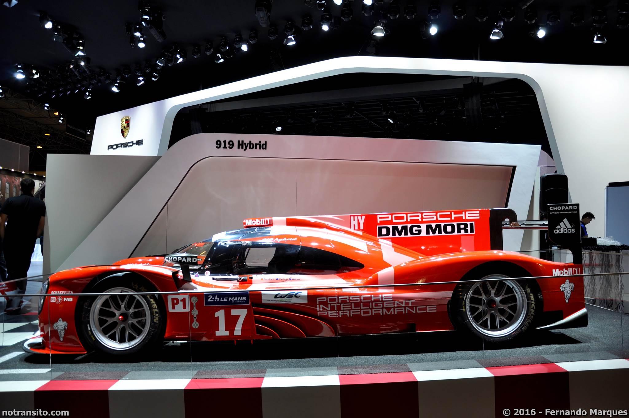 Porsche 919 Hybrid Salão do Automóvel 2016