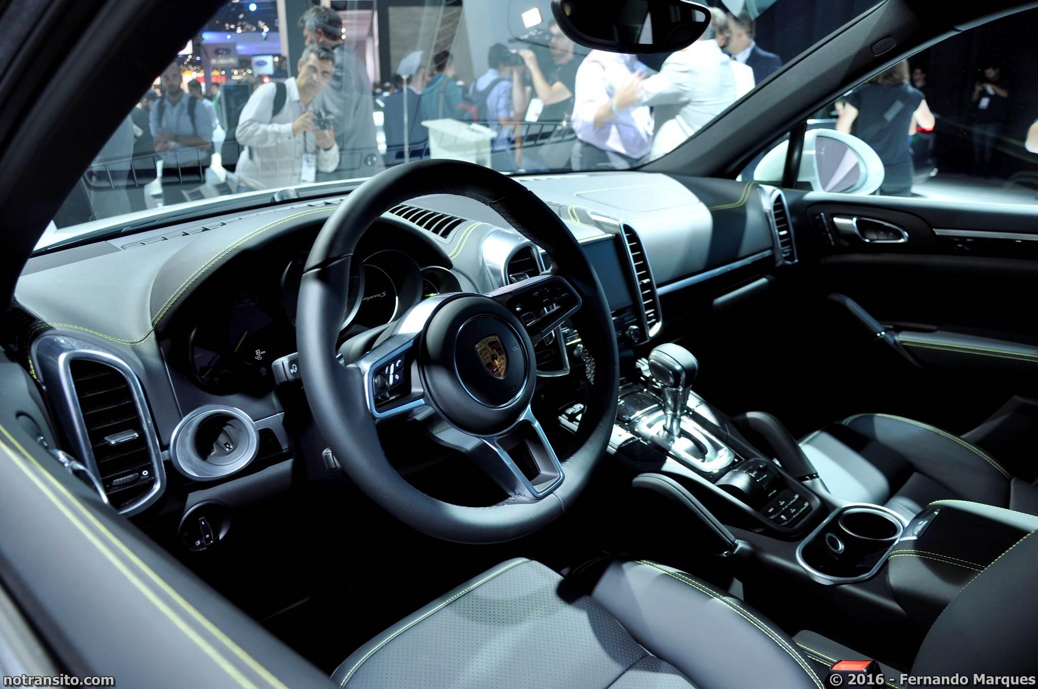 Porsche Cayenne S E-Hybrid Salão do Automóvel 2016