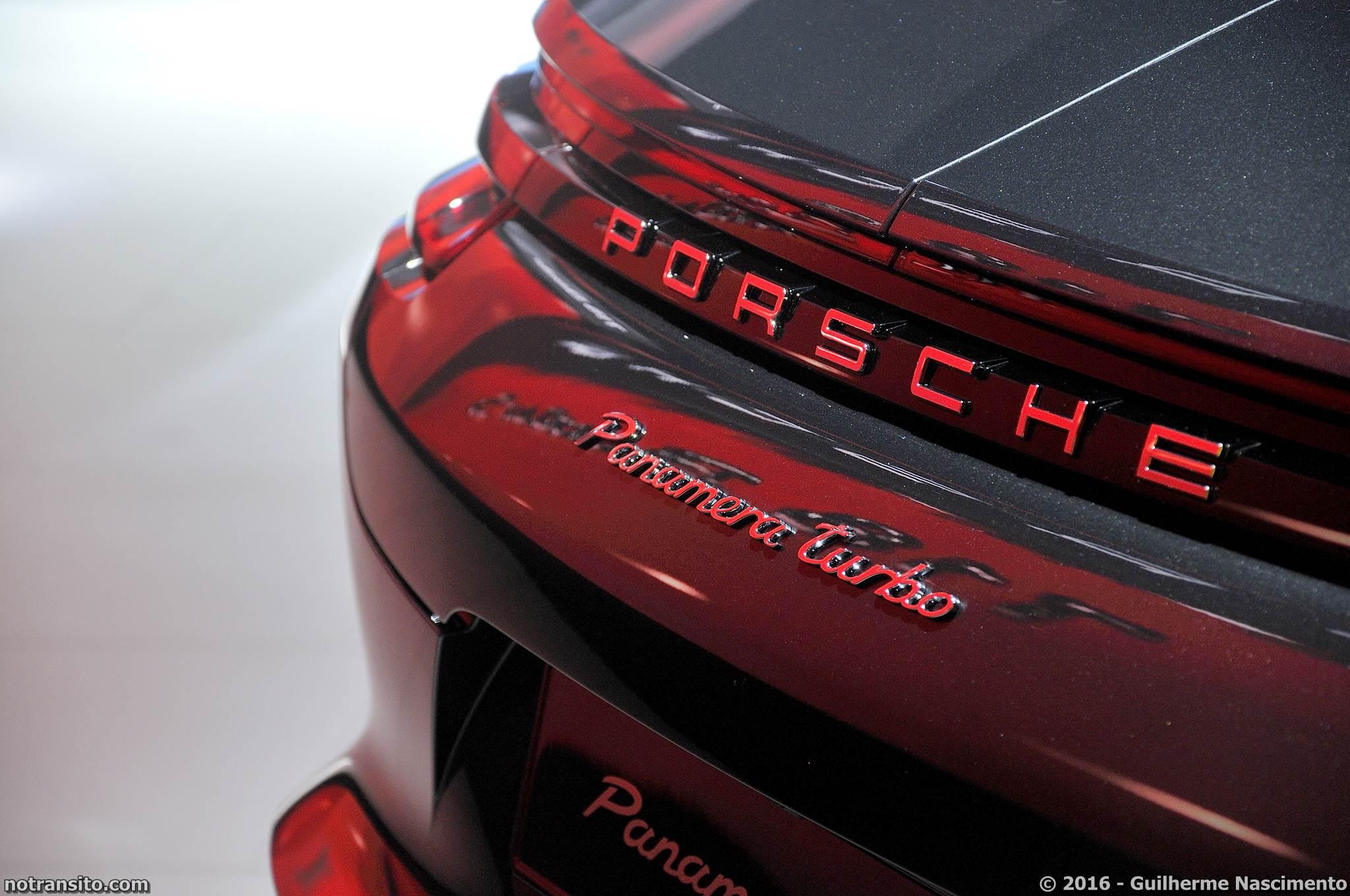 Porsche Panamera Turbo Salão do Automóvel 2016