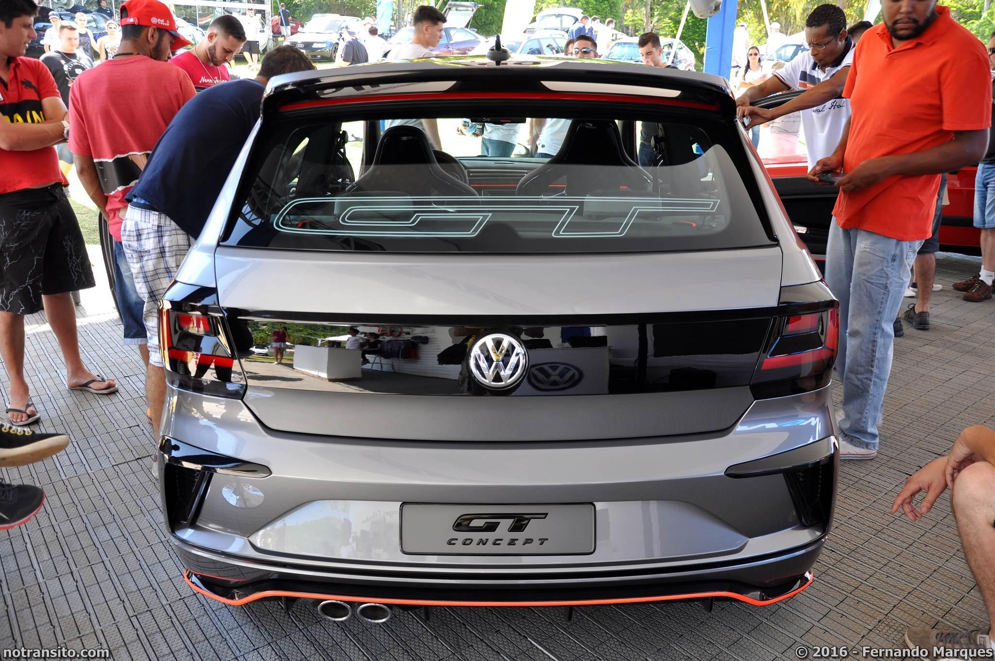 Volkswagen Gol GT Concept Bubble Gun Treffen 8