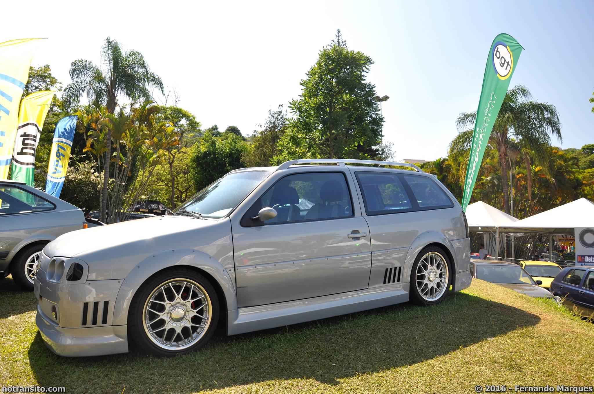 Volkswagen Parati EDP Conceito 1996 Bubble Gun Treffen 8