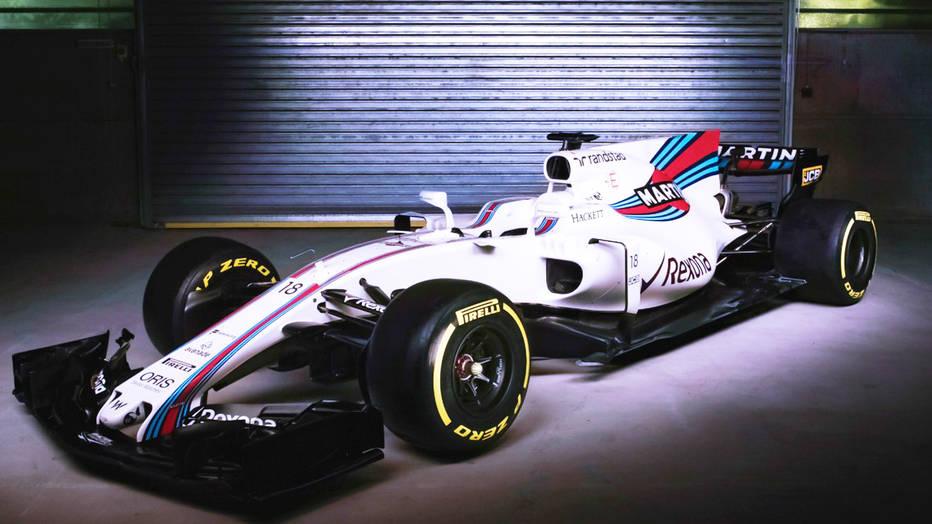 O carro branco da Williams parece ser interessante e bem resolvido. Se tiver dinheiro para continuar se desenvolvendo ao longo do ano, pode esperar por melhores resultados que ano passado.
