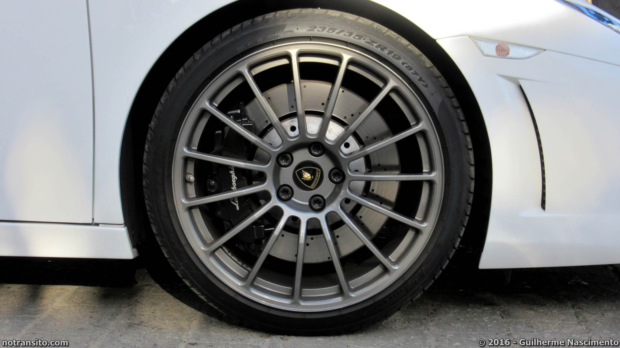 Lamborghini Gallardo LP 560-4 Bianco Monocerus Jurerê Internacional