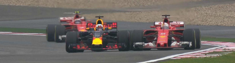 Vettel e Ricciardo se tocaram, e foi bonito (sem duplo sentido, por favor)