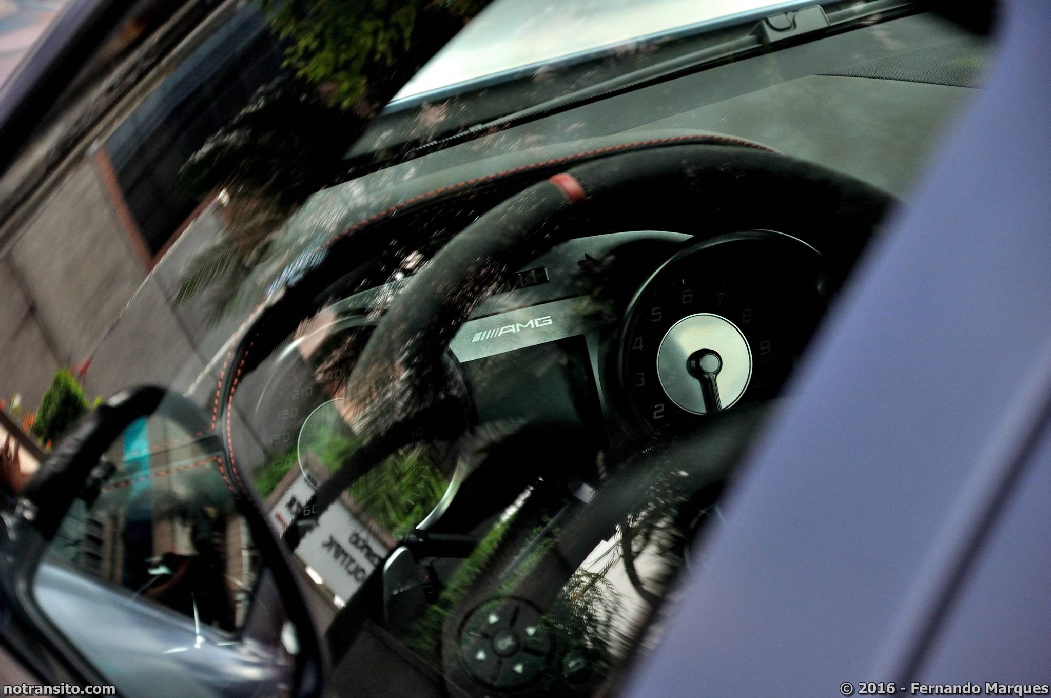 Mercedes-Benz SLS AMG BLack Series Yosemite Blue São Paulo