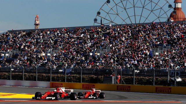 Forte nos treinos, a Ferrari não repetiu o desempenho na corrida, mas está forte.