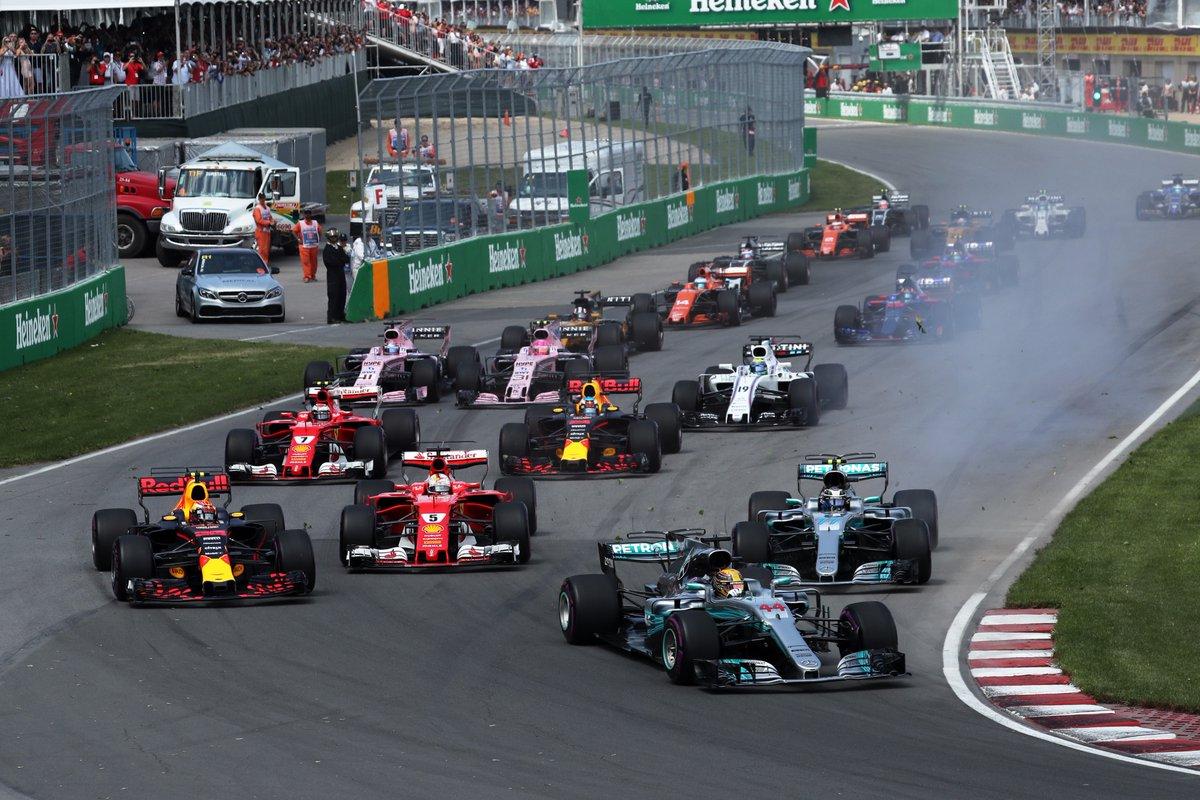 Verstappen fez uma largada monstruosa, mas abandonou cedo demais.