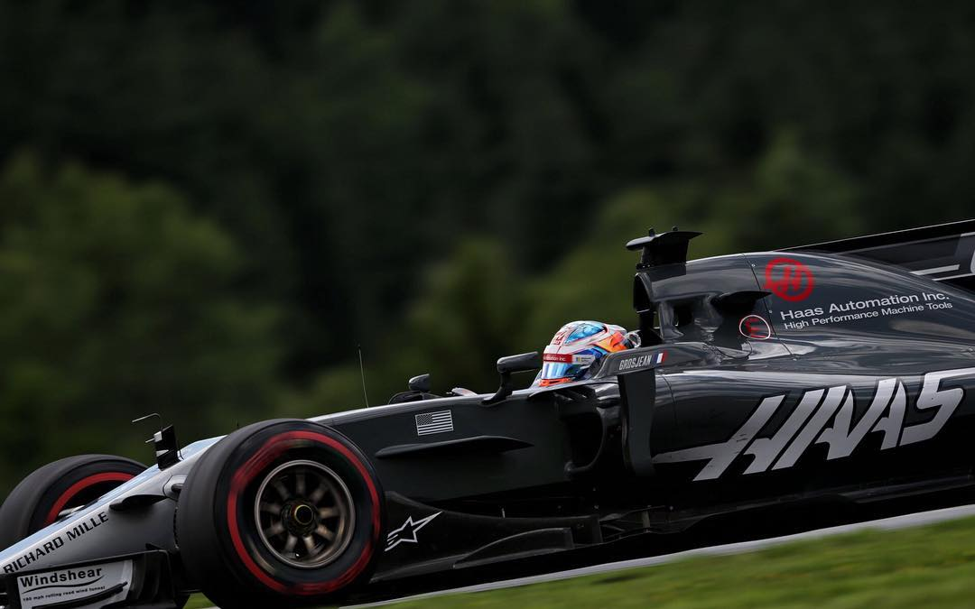 Grosjean fez um belo trabalho. Chegar atrás de Mercedes, Ferrari e Red Bull, é um feito e tanto.