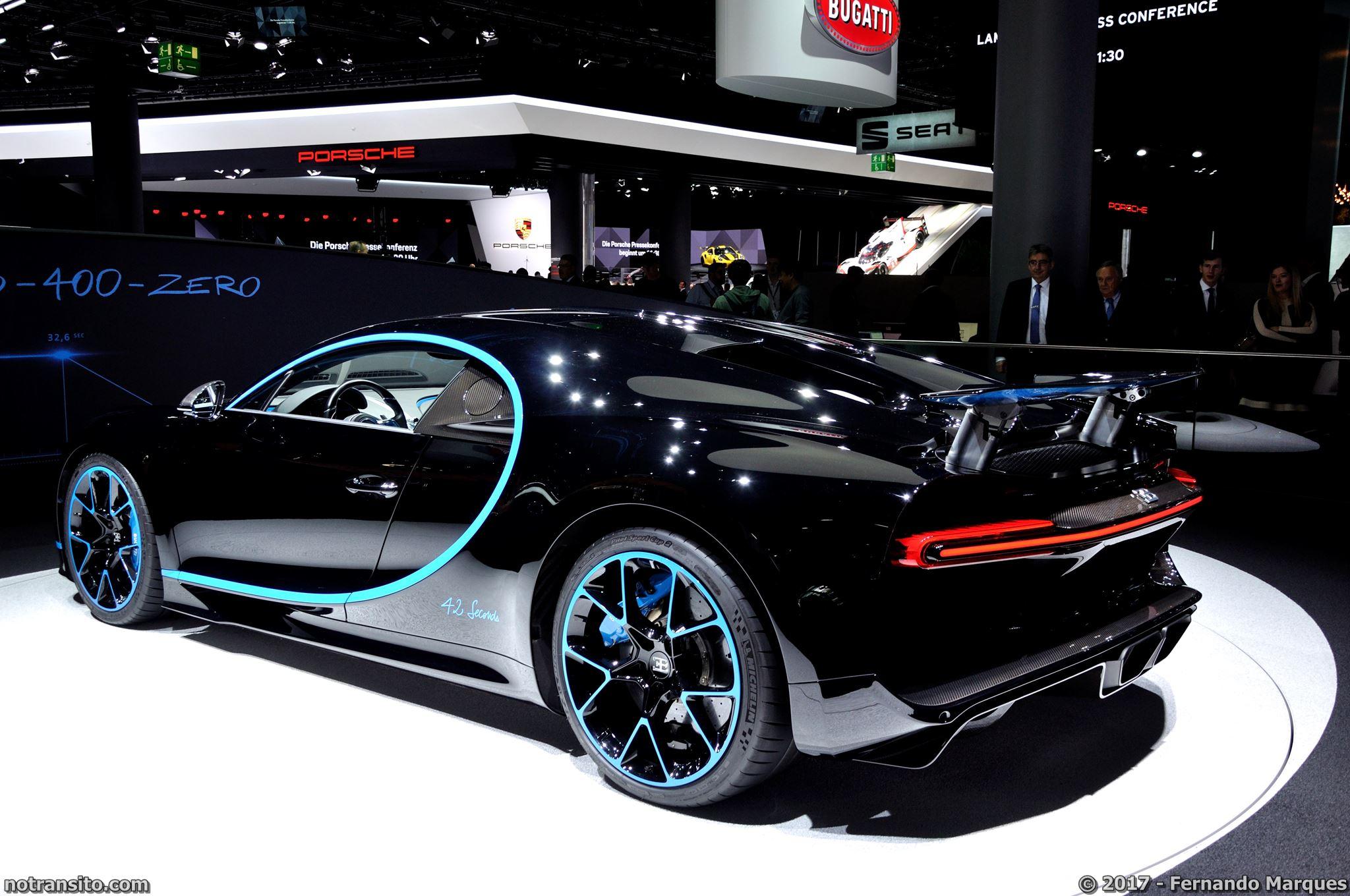 Bugatti Chiron Frankfurt