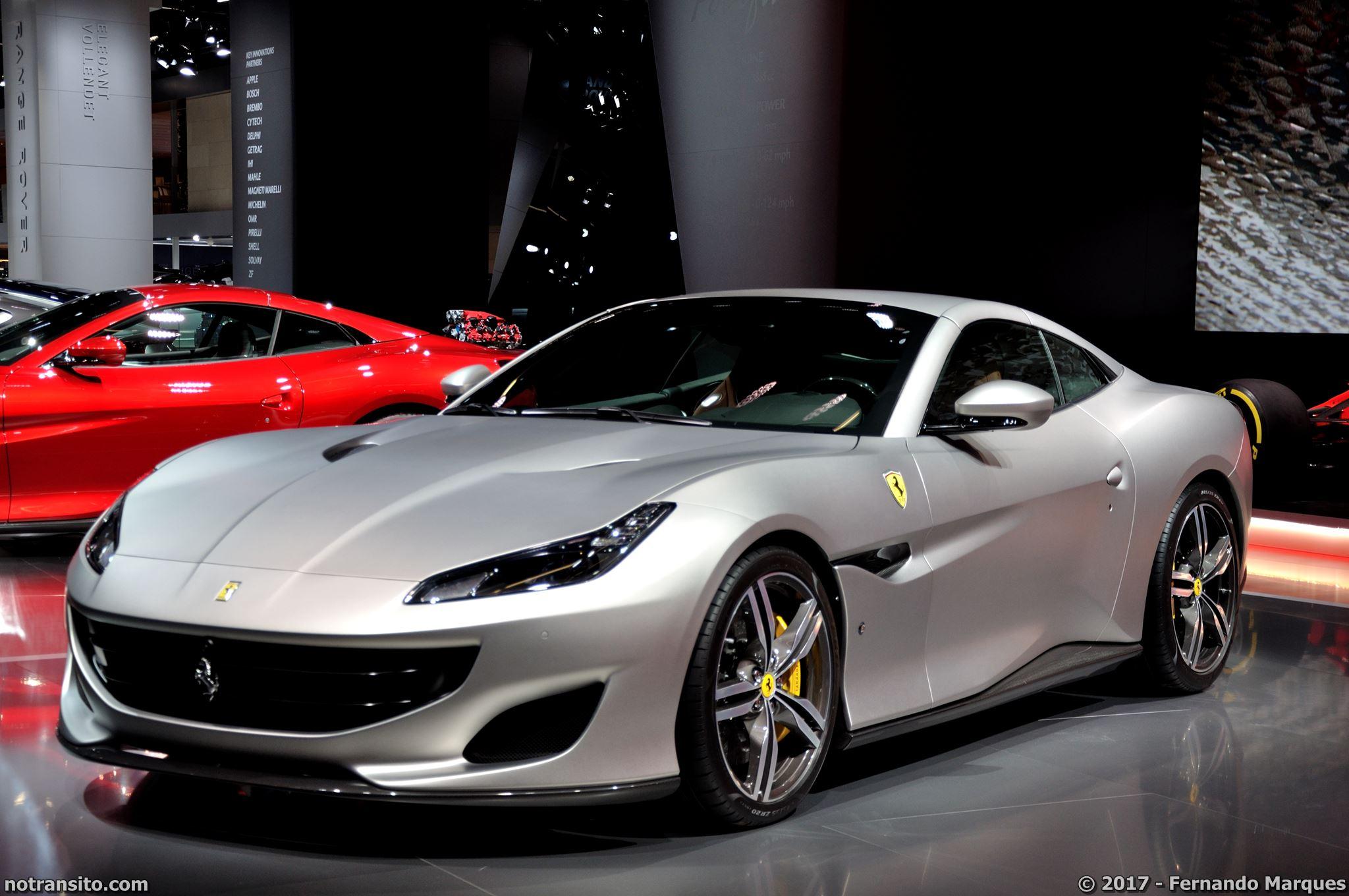 Ferrari Portofino Frankfurt 2017