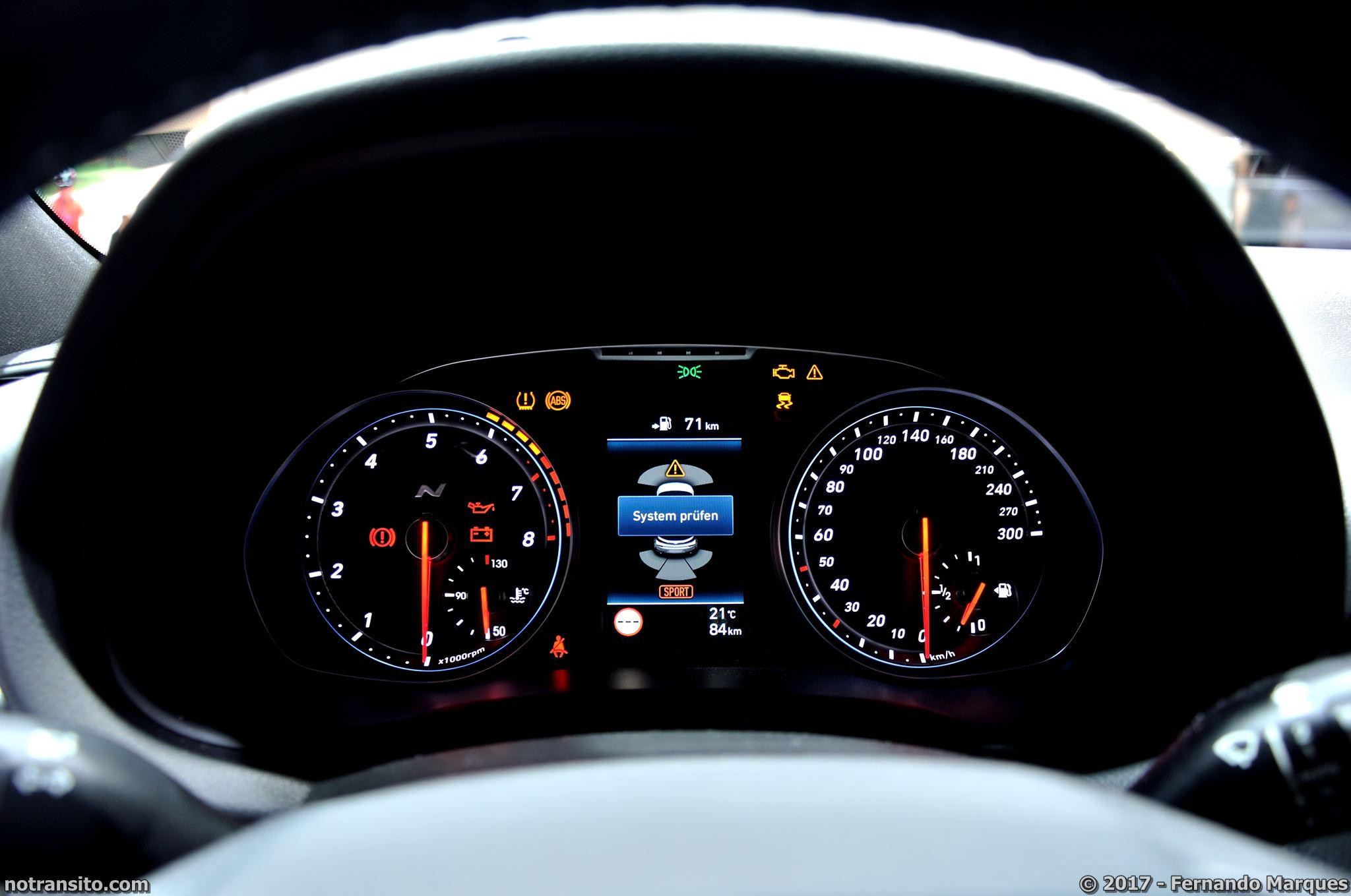 Hyundai i30 N Performance Blue Salão de Frankfurt