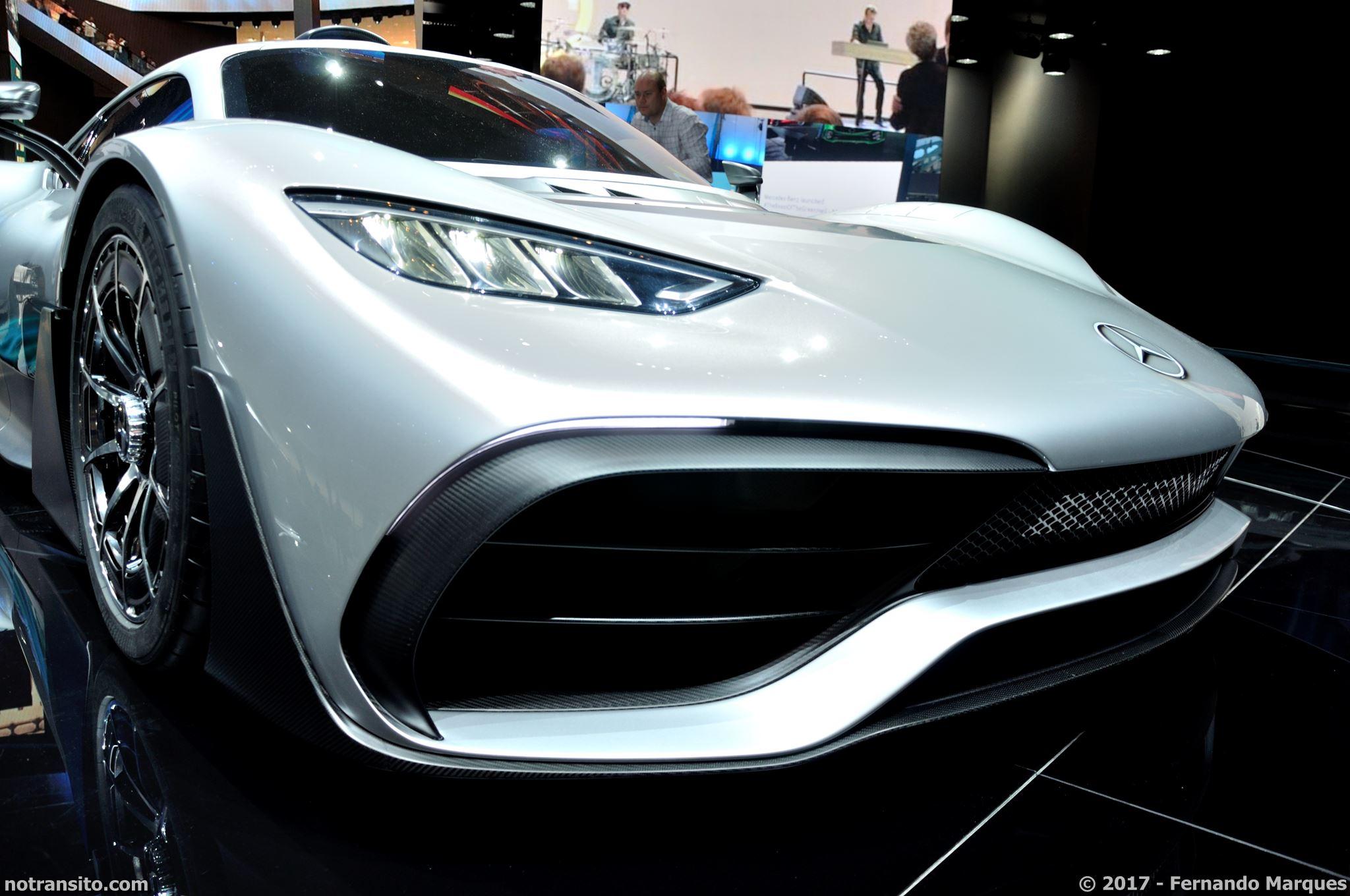Mercedes-AMG Project One Frankfurt 2017