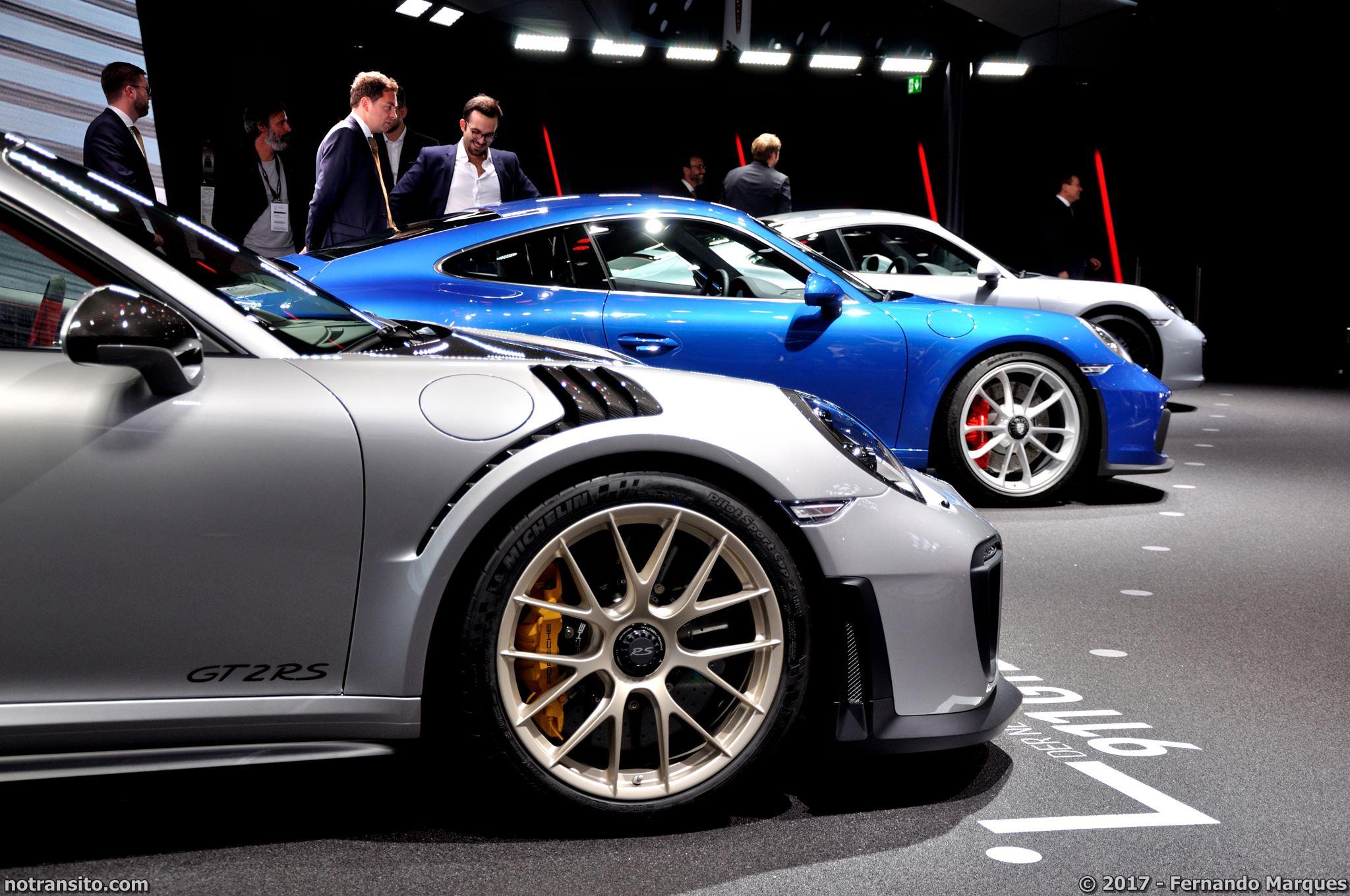 Porsche 911 GT2 RS, Salão de Frankfurt 2017