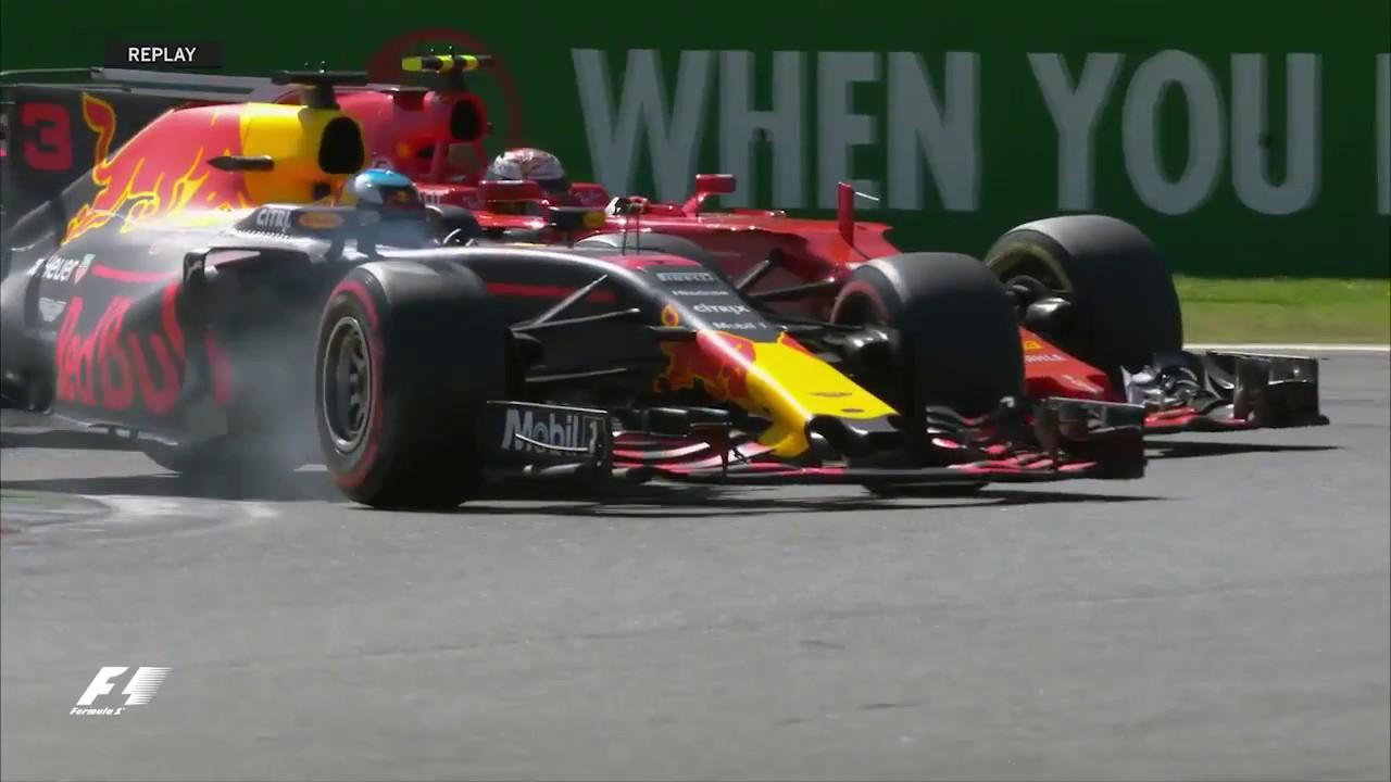 Ricciardo, ultrapassando Raikkonen. O australiano é muito mais que um sorrisinho bonito no grid (e faz tempo).