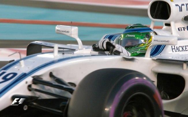 Ao que tudo indica, foi a despedida de Felipe Massa (é que erramos no ano passado quando dissemos o mesmo).