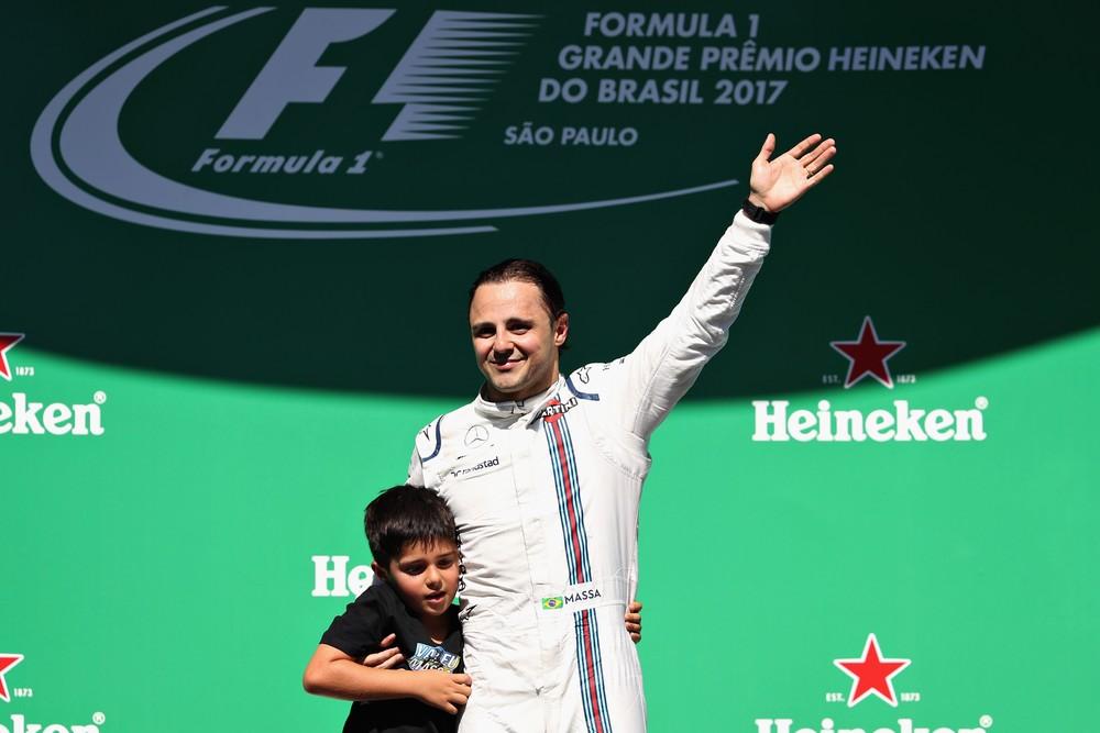 Massa teve o apoio da torcida local em sua despedida definitiva em seu país. Valeu ter optado por correr por mais um ano, segundo ele.