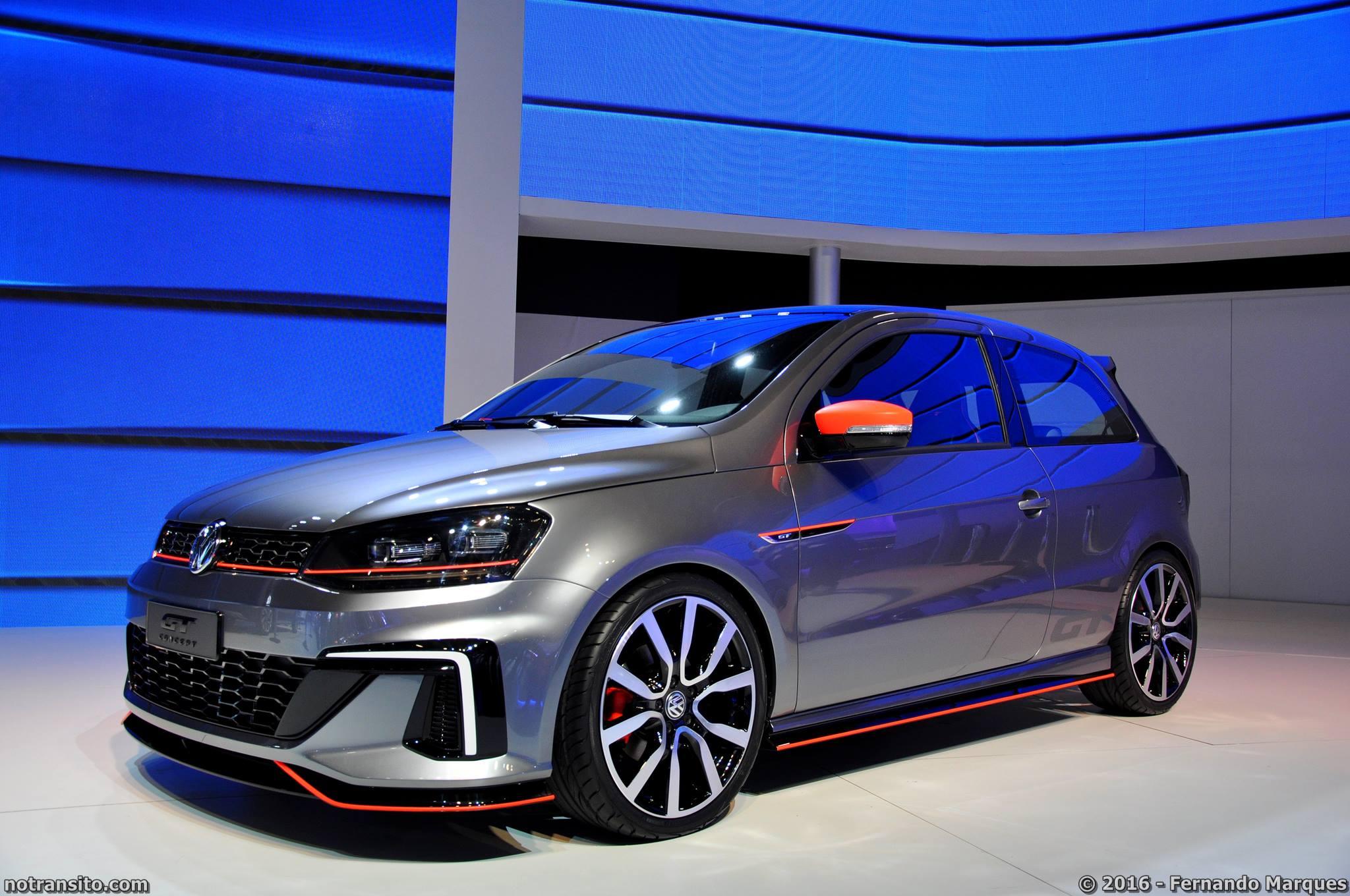 O Gol GT foi apresentado no último Salão do Automóvel e foi um dos veículos mais comentados do evento.